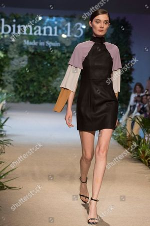 Stock Image of Sophie Horbury on the catwalk