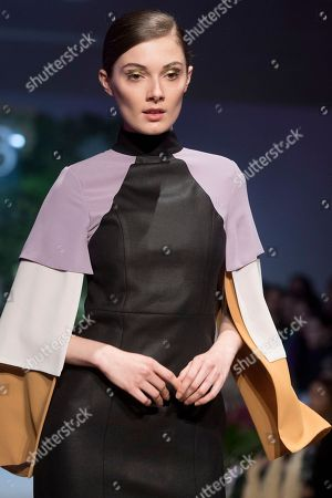 Stock Picture of Sophie Horbury on the catwalk