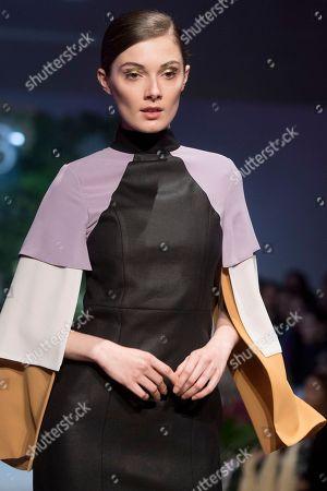Stock Photo of Sophie Horbury on the catwalk