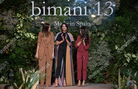 Editorial image of Bimani 13 show, Royal Tapestry Factory, Madrid, Spain - 25 Oct 2018