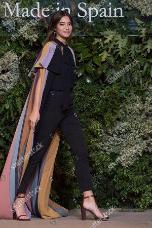 Stock Photo of Rocio Crusset on the catwalk
