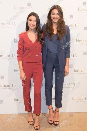 Laura Corsini and Rocio Crusset
