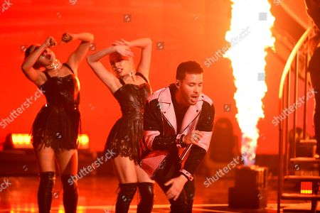 Editorial photo of 2018 Latin American Music Awards - Show, Los Angeles, USA - 25 Oct 2018