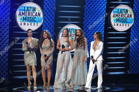 Editorial image of 2018 Latin American Music Awards - Show, Los Angeles, USA - 25 Oct 2018