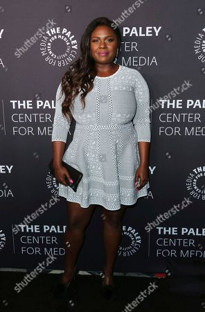 "Deborah Joy Winans arrives at the ""Paley Honors in Hollywood: A Gala Tribute to Music on Television"" event at The Beverly Wilshire, in Beverly Hills, Calif"