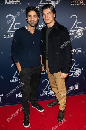 Adrian Grenier and Zane Holtz