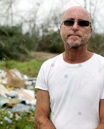 Mark Ward talks about the lack of water, sewer, electricity and cell service in Bay County, Fla. Ward and his neighbors say that the rural parts of the county have seen little help since Hurricane Michael