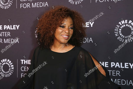 Tina Lifford arrives at the 'Paley Honors in Hollywood: A Gala Tribute to Music on Television' event at The Beverly Wilshire, in Beverly Hills, Calif