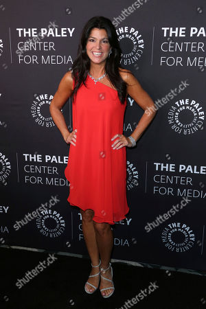 Chief Executive Officer and Director of The Paley Center for Media Maureen J. Reidy arrives at the 'Paley Honors in Hollywood: A Gala Tribute to Music on Television' event at The Beverly Wilshire, in Beverly Hills, Calif