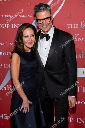 "Stock Picture of Margaret Russell, John Bossard. Margaret Russell and John Bossard attend the Fashion Group International's annual ""Night of Stars"" gala at Cipriani Wall Street, in New York"