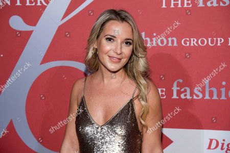 """Stock Picture of Christie Ferrari attends the Fashion Group International's annual """"Night of Stars"""" gala at Cipriani Wall Street, in New York"""