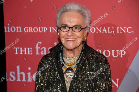 """Rosita Missoni attends the Fashion Group International's annual """"Night of Stars"""" gala at Cipriani Wall Street, in New York"""