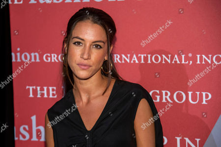 "Stock Picture of Bibi Cornejo Borthwick attends the Fashion Group International's annual ""Night of Stars"" gala at Cipriani Wall Street, in New York"