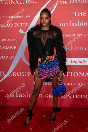 "Tami Williams attends the Fashion Group International's annual ""Night of Stars"" gala at Cipriani Wall Street, in New York"