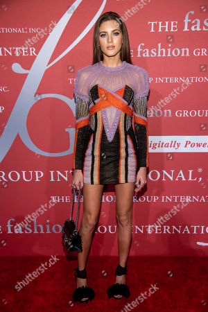 """Valery Kaufman attends the Fashion Group International's annual """"Night of Stars"""" gala at Cipriani Wall Street, in New York"""