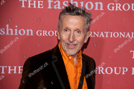"Simon Doonan attends the Fashion Group International's annual ""Night of Stars"" gala at Cipriani Wall Street, in New York"