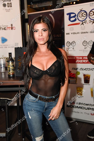 Editorial picture of Celebrity Boxing Showdown Press Conference at B Squared Burger, Ft Lauderdale, USA - 25 Oct 2018