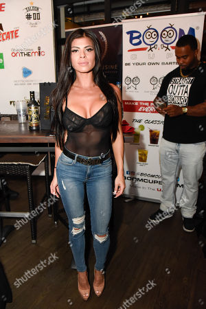 Editorial image of Celebrity Boxing Showdown Press Conference at B Squared Burger, Ft Lauderdale, USA - 25 Oct 2018