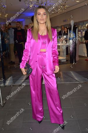 Editorial picture of Swarovski store opening, London, UK - 25 Oct 2018