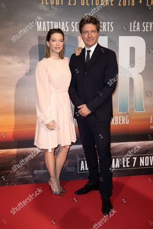 Kursk film premiere Paris Stock Photos (Exclusive
