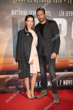 Editorial photo of 'Kursk' film premiere, Paris, France - 25 Oct 2018