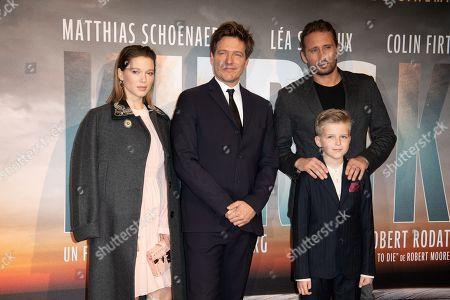 Lea Seydoux, Thomas Vinterberg and Matthias Schoenaerts