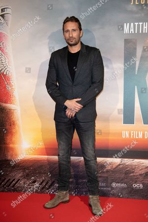 Editorial image of 'Kursk' film premiere, Paris, France - 25 Oct 2018