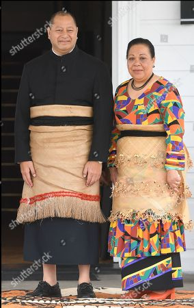 King Tupou VI and Queen Nanasipau'u