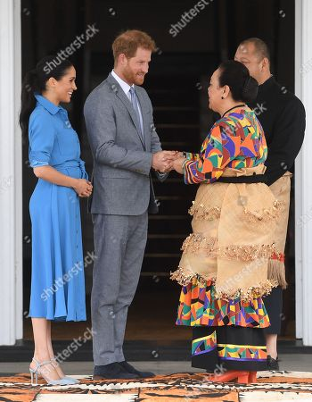 Editorial image of Prince Harry and Meghan Duchess of Sussex tour of Tonga - 26 Oct 2018