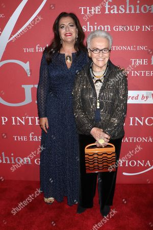 Angela Missoni and Rosita Missoni