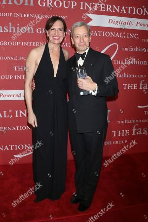 Editorial image of Fashion Group International 'Night of Stars' Gala, Arrivals, New York, USA - 25 Oct 2018