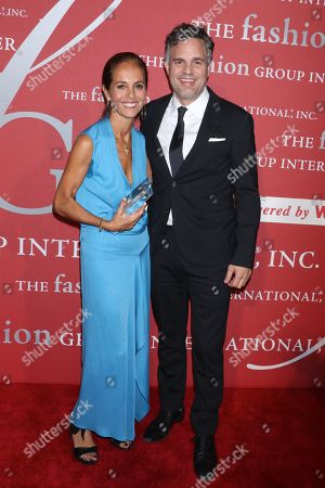 Stock Image of Maria Cornejo and Mark Ruffalo