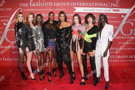 Nadja Bender, Alexina Graham, Riley Montana, Tami Williams, Cindy Bruna, Valery Kaufman, Alanna Arrington, and Duckie Thot