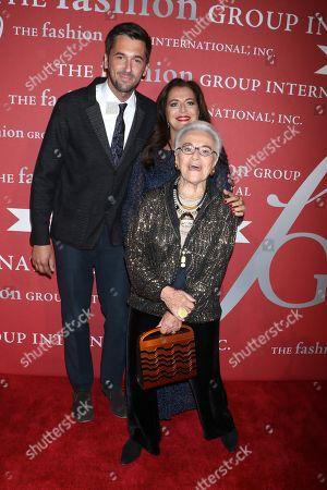Ottavio Missoni Jr, Angela Missoni and Rosita Missoni
