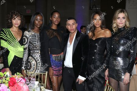 Alanna Arrington, Riley Montana, Tami Williams,, Olivier Rousteing, Cindy Bruna, Nadja Bender