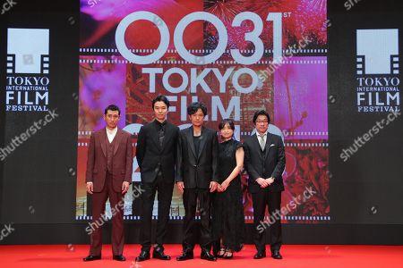 Stock Image of Kiyohiko Shibukawa, Hiroki Hasegawa, Goro Inagaki, Chizuru Ikewaki, Junji Sakamoto