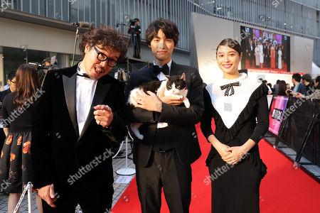 Stock Image of Koichiro Miki, Sota Fukushi, Alice Hirose