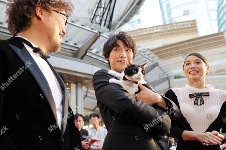 Stock Photo of Koichiro Miki, Sota Fukushi, Alice Hirose
