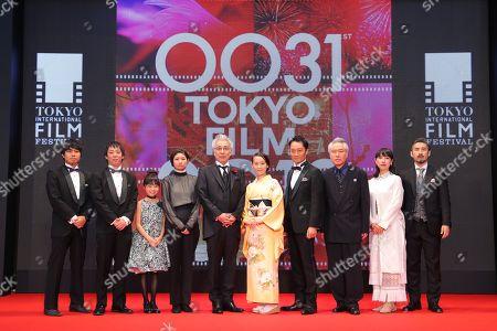 Stock Picture of Moe Ohki, Issey Ogata, Tomoe Shinohara