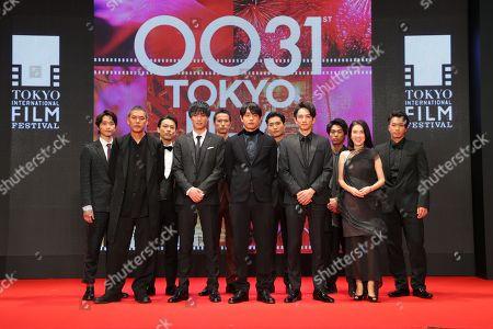 Stock Image of SABU, Nobuyuki Suzuki, Sho Aoyagi, Keita Machida, Mariko Tsutsui
