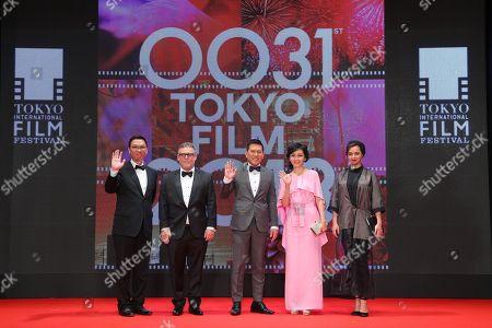 Stock Photo of Stanley Kwan, Brillante Ma Mendoza, Kaho Minami, Taraneh Alidoosti, Bryan Burk