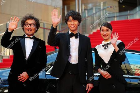 Koichiro Miki, Sota Fukushi, Alice Hirose