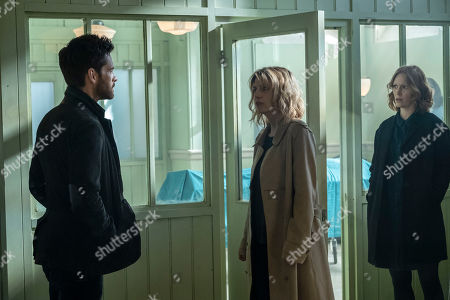 Tom Riley as Will Wagstaffe, Claire Goose as Phoebe Kyrkiacou and Clare Foster as Alexandra Panousis.