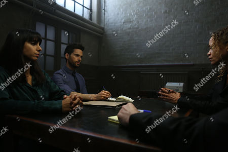 Anjli Mohindra as Chancellor, Tom Riley as Will Wagstaffe and Indra Ove as Kerry Davies.