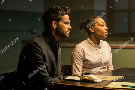 Stock Picture of Tom Riley as Will Wagstaffe and Michele Austin as Annie Webb.