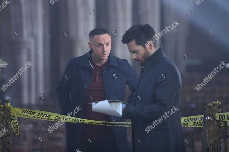 Jason Maza as Mullan and Tom Riley as Will Wagstaffe.