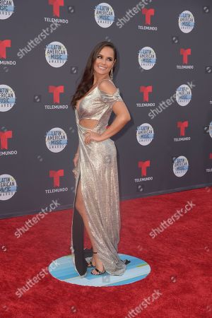 Editorial picture of Latin American Music Awards, Arrivals, Los Angeles, USA - 25 Oct 2018
