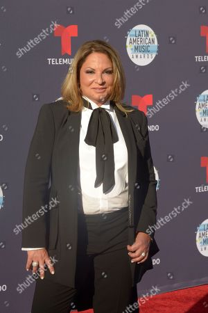 Editorial photo of Latin American Music Awards, Arrivals, Los Angeles, USA - 25 Oct 2018