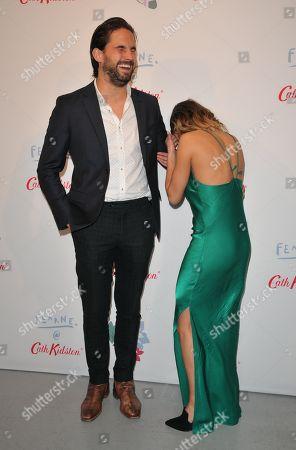 Jamie Jewitt and Camilla Thurlow
