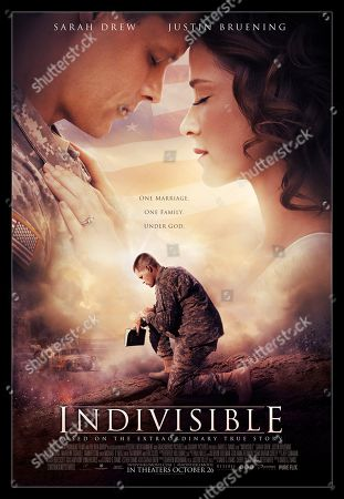 Indivisible (2018) Poster Art. Justin Bruening as D Turner, Sarah Drew as Heather Turner
